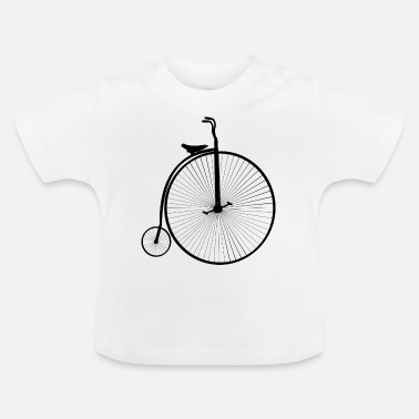 Bicyclette Bicyclette vintage - Baby T-shirt