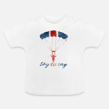 Uk Skydiving #UK - Baby T-shirt