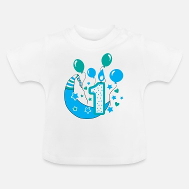 1st Birthday first birthday 1st birthday one year gift - Baby T-Shirt