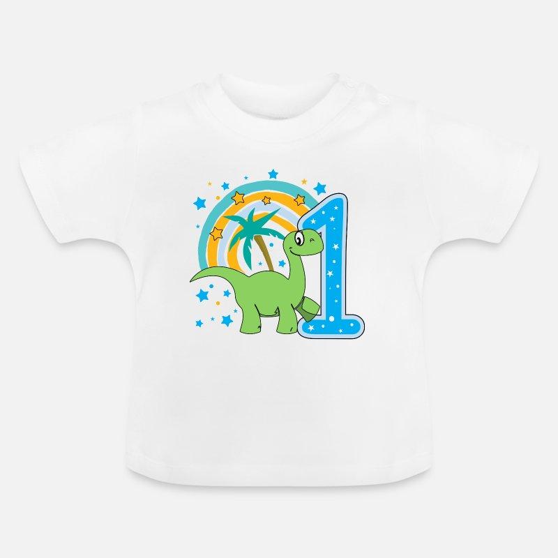 Baby T Shirtfirst Birthday 1st One Year Gift