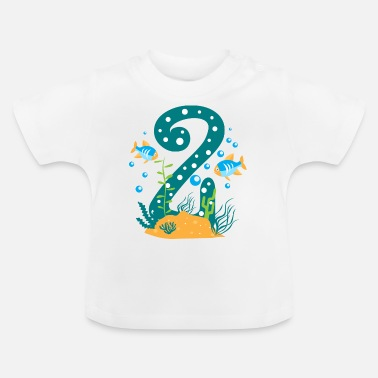 Godfather Boy Second birthday boy, 2nd birthday gift - Baby T-Shirt