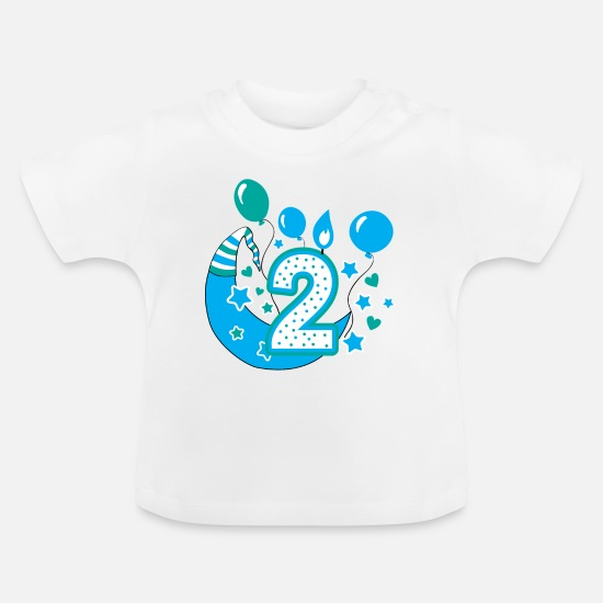 Second Birthday Boy 2nd Gift Baby T Shirt