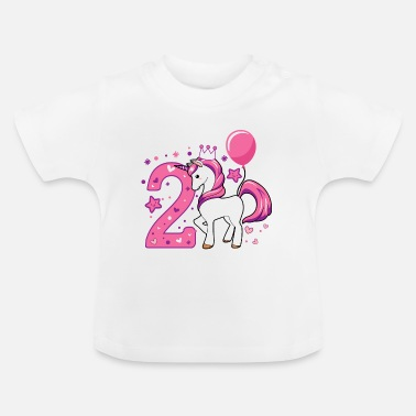 Birthday Girl second birthday girl, 2nd birthday gift - Baby T-Shirt