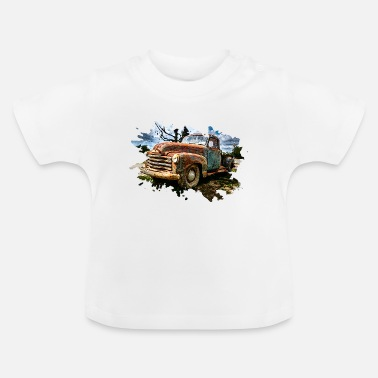 Pick-up Lijn Oude pick-up - Baby T-shirt