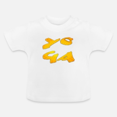 Indien Yoga - Baby T-Shirt
