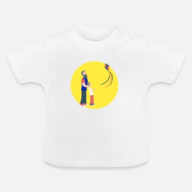 Fathers Day Father and son - Baby T-Shirt