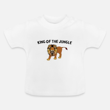 Jungle Koning van de jungle - Baby T-shirt