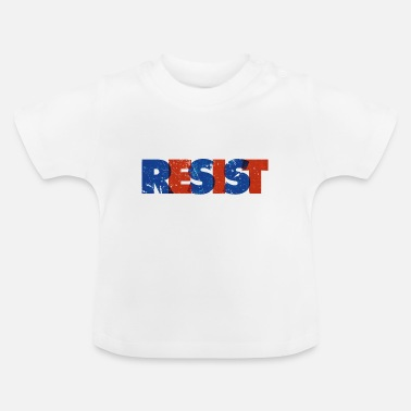 Distressed Resist Distressed - Baby T-Shirt