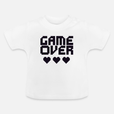 Game Over Retro game over (Game over) - Baby T-shirt