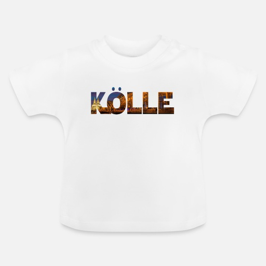 Carneval Baby Clothes - Kölle Cologne Cologne - Baby T-Shirt white