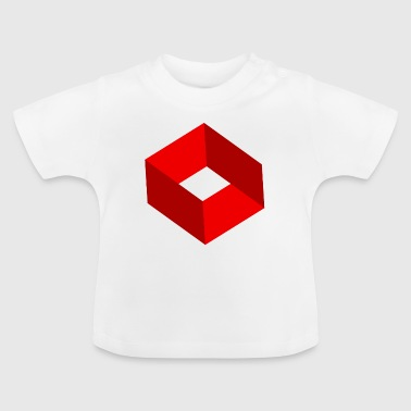 Impossible Figures Impossible figure - Impossible square - Baby T-Shirt