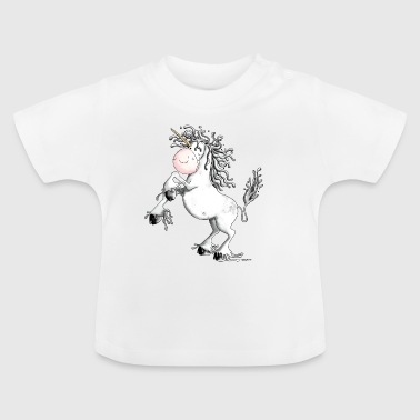Funny Unicorn Funny Unicorn - Unicorns - Baby T-Shirt