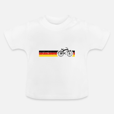 National Cykel nationale farver National Germany Gift - Baby T-shirt