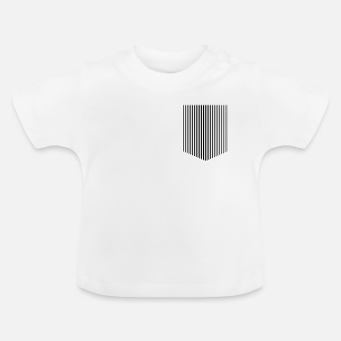 Strip pocket stripes - Baby T-Shirt