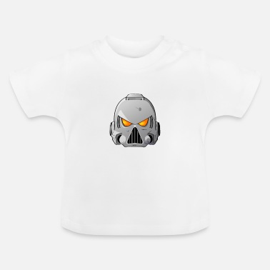 Space Wolves Space Marine Helmet - Baby T-Shirt