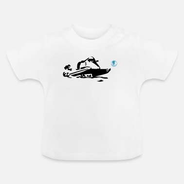 Powerboat motorboot - Camiseta bebé