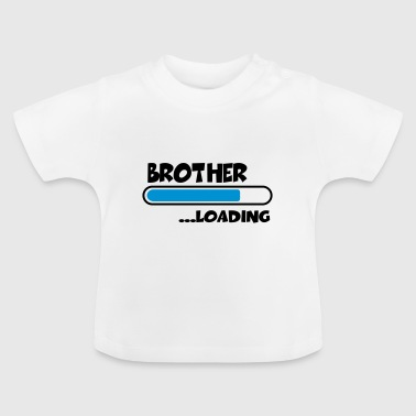 Big Brother Brother loading - Baby-T-shirt