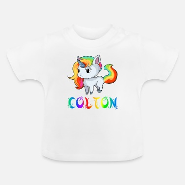 Colton Unicorn Colton - Baby T-Shirt
