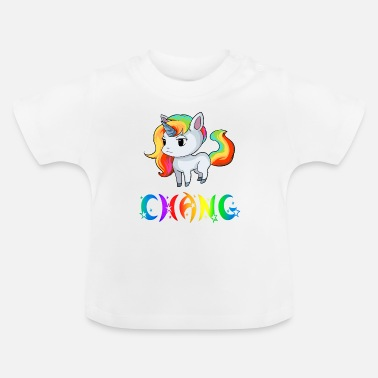 Change Einhorn Chang - Baby-T-shirt