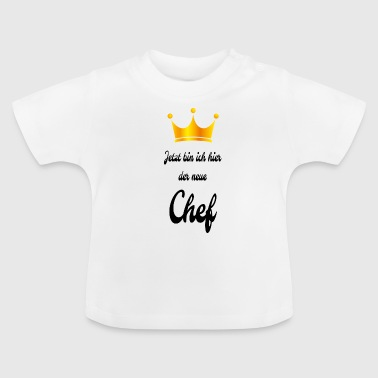 Baby Body Neuer Boss - Baby T-Shirt