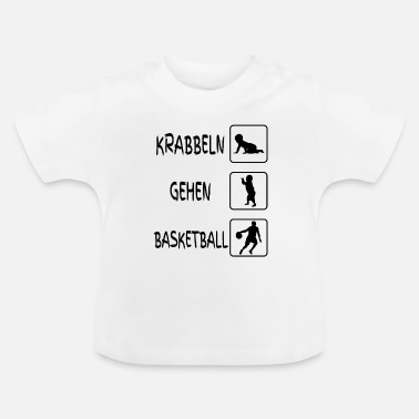 Baby Body Funny baby body basketball - Baby T-Shirt