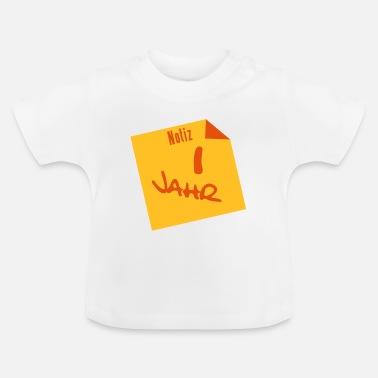1 Jaar Verjaardag T Shirts Online Bestellen Spreadshirt