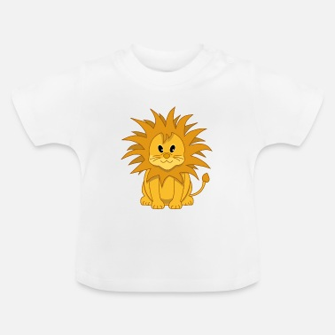 Cub Cute Cartoon Lion Cub - Baby T-Shirt