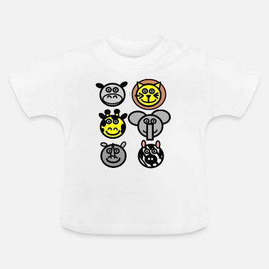 Sumu Lee zoo animals - T-shirt Bébé