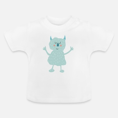 monstre - T-shirt Bébé