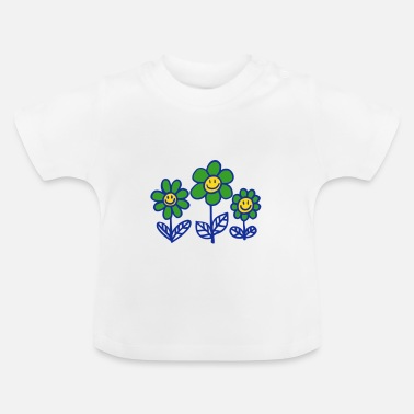 Cheerful Madness Flower Power by Cheerful Madness!! - Baby T-Shirt