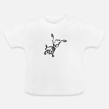 Wouff Wouf, j'entends un bruit - basique - T-shirt Bébé