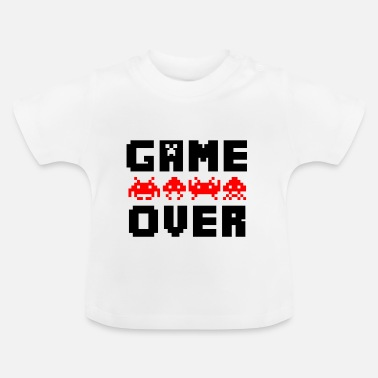 Game Over game over - Baby-T-shirt