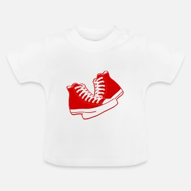 Old School chaussures old school - Baby-T-shirt