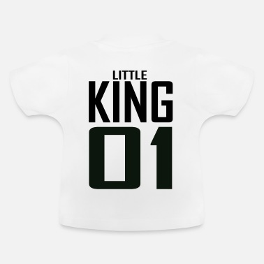 King Familie XXXXL LOGO LITTLE KING 01.png - Baby T-Shirt