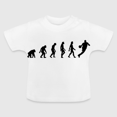The Evolution of Basketball - Baby T-Shirt