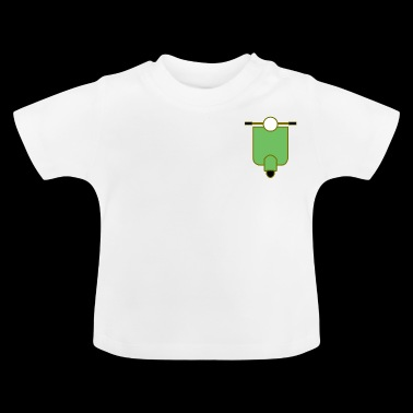 Simple Scooter - Baby T-Shirt
