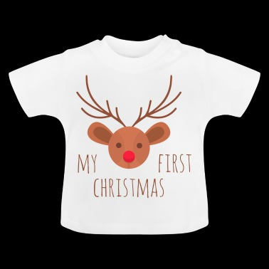 My first Christmas Rentier - Baby T-Shirt
