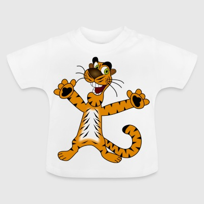 Titi the happy tiger - Baby T-Shirt
