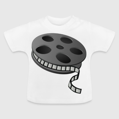 Cinema film reel - Baby T-Shirt