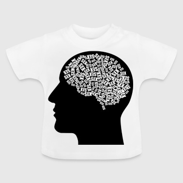 Male head (thoughts) - Baby T-Shirt