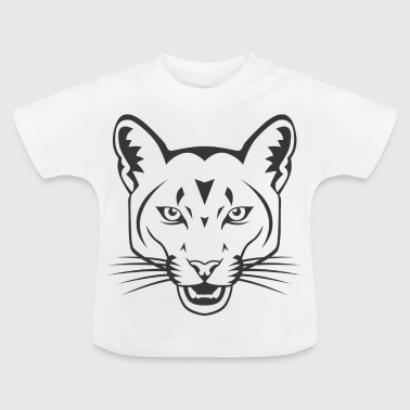 tête rose Panther Black Panther - T-shirt Bébé