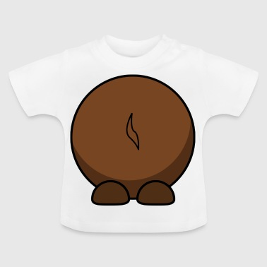 Wildebeest from behind. gift idea - Baby T-Shirt