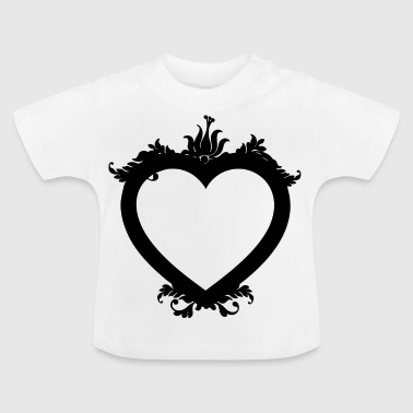 i love you ich liebe dich valentines day heart her - Baby T-Shirt