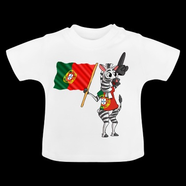 Portugees Zebra - Baby T-shirt