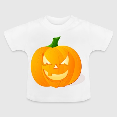 Halloween pumpa - Baby-T-shirt