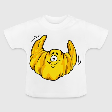 Lustiges Croissant - Baby T-Shirt