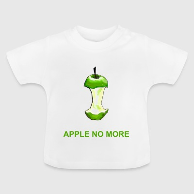 Apple no more - Camiseta bebé