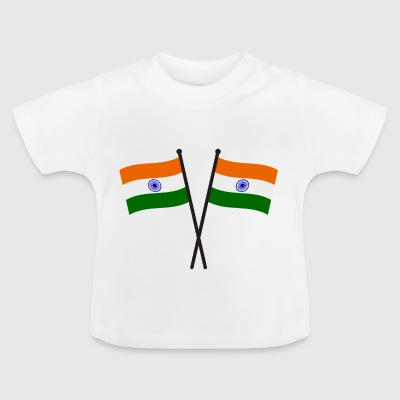 india flag - Baby T-Shirt