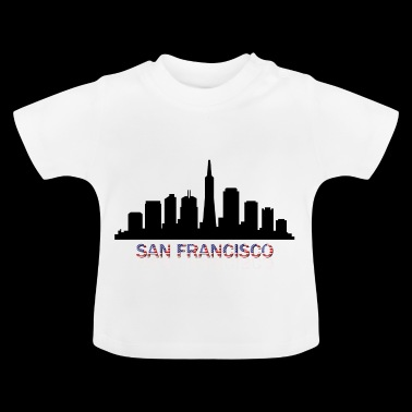san francisco skyline - Baby T-shirt