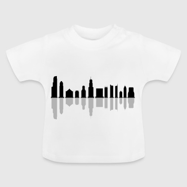Chicago horisont - Baby-T-shirt